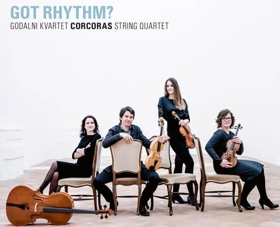 Godalni kvartet Corcoras - Got Rhythm - predogled