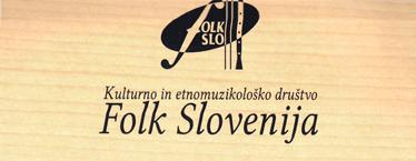 Kulturno in etnomuzikoloskego drustvo FOLK Slovenija - logo
