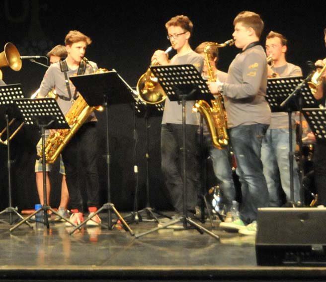 Mladinski orkester Jazz Ravne in mladinski zbor JAMzi KD ISC Zmaj