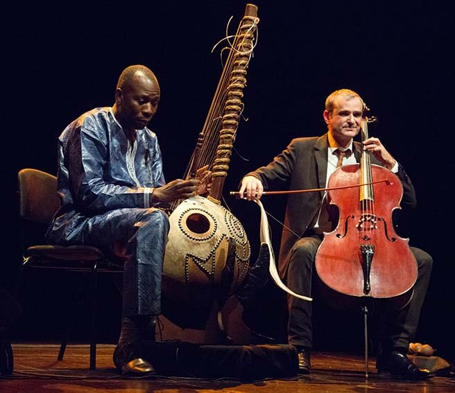 Ballake Sissoko in Vincent Segal